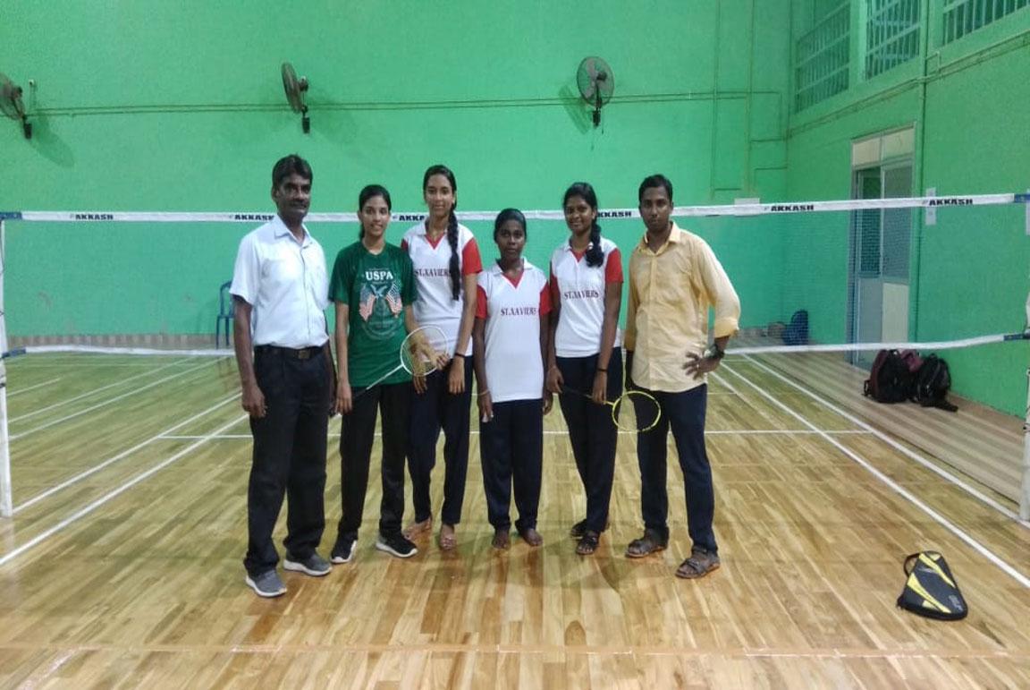 Zonal Badminton Third Place