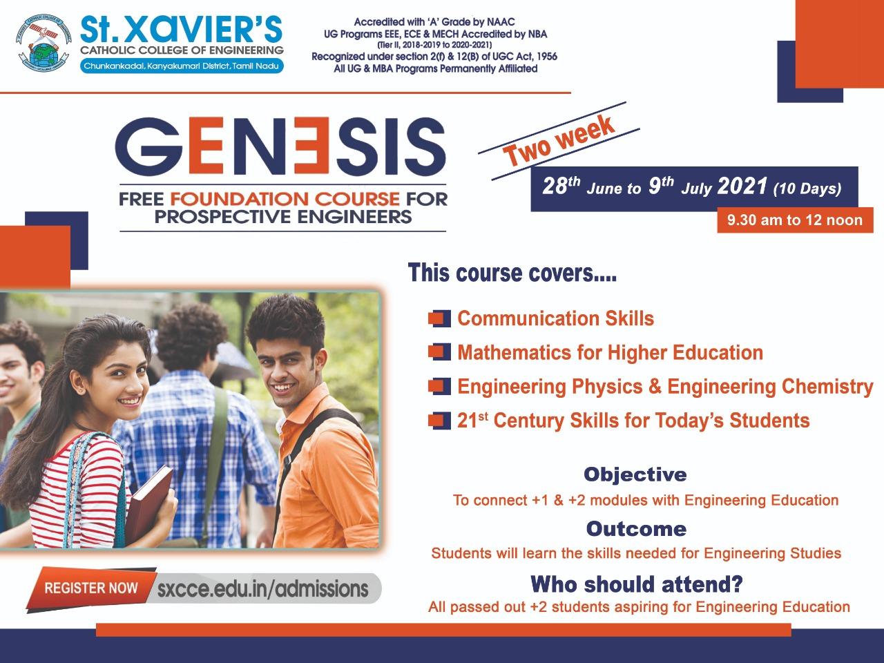 GENESIS-Flyer